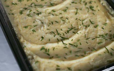 Loaded mashed potatoes